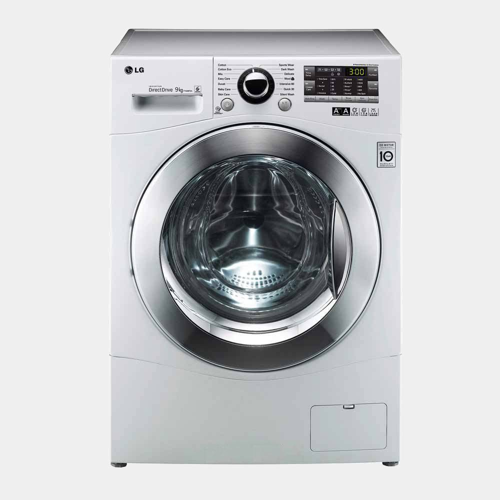 Lavadora de 9kg lg f14a8fda7 inox 1400r a 20 display - Opiniones lavadoras lg ...